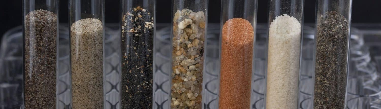 Analytische Messung von Sanden im Sandfuchs Labor